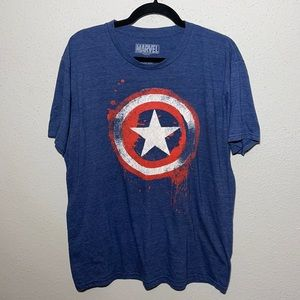 Marvel Large Captain America Tee